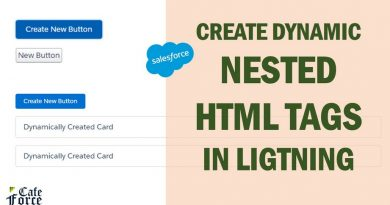 Dynamic nested HTML tags creation