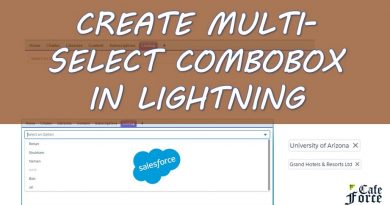 Multi Select Combobox Picklist Lightning