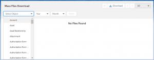 Mass Files Attachment LWC Filter