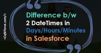 days, hours, minutes between 2 datetime fields