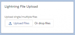 lightning file upload button